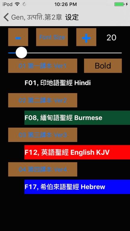 Hindi Audio Bible 印地語聖經 screenshot-3