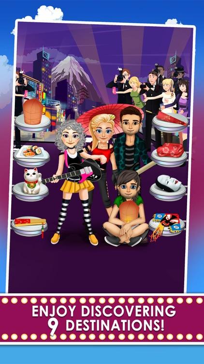 Celebrity Girl Fashion Salon Tour - dress up spa & hair makeover games for kids!