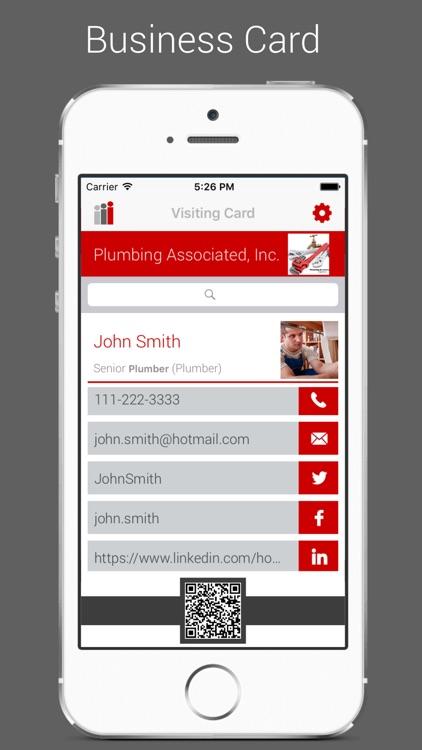 i-Card Business Card App