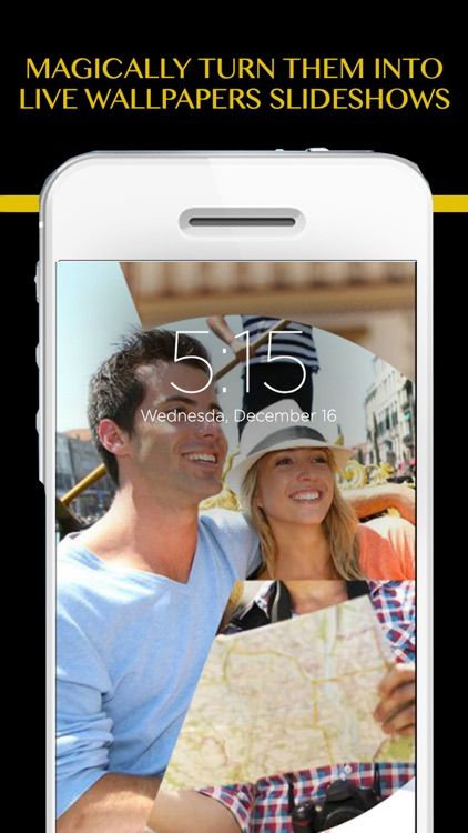 Live Wallpapers Photos Videos & Pano - Customize your Lockscreen with videos as backgrounds