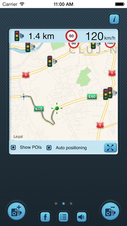 i SpeedCam Italy (Speed Camera Detector with GPS Tracking) screenshot-1