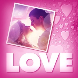 Love Greeting Cards Maker - Picture Frames for Valentine's Day & Kawaii Photo Editor