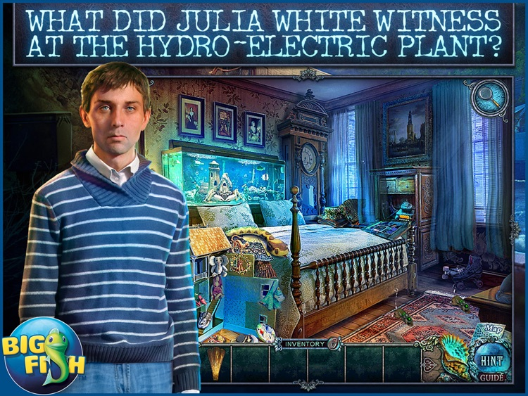 Fear For Sale: Phantom Tide HD - A Scary Hidden Object Mystery (Full) screenshot-0
