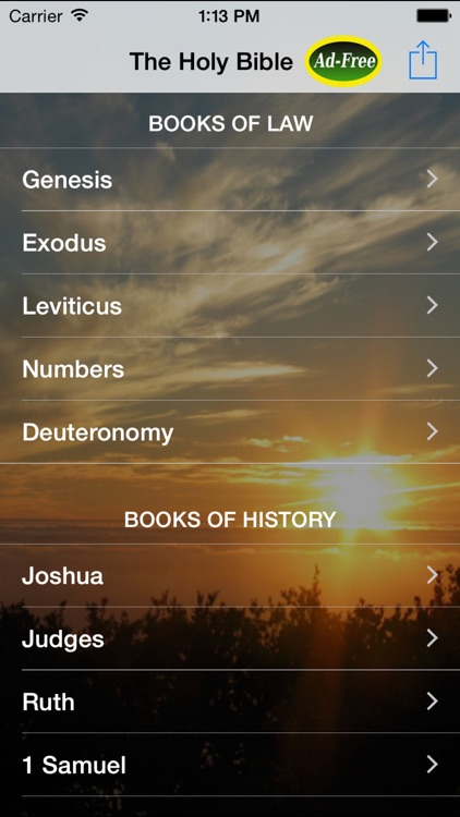 The Holy Bible FREE: King James Version for Daily Bible Study, Readings and Inspirations!