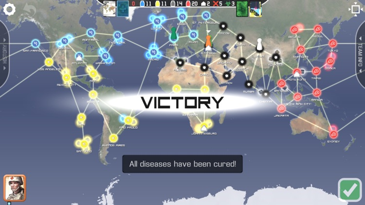 Pandemic: The Board Game screenshot-4