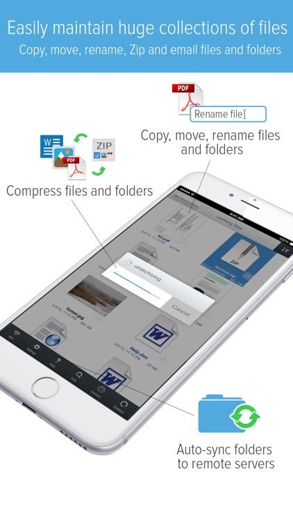 GoodReader - PDF Reader, Annotator and File Manager screenshot-3