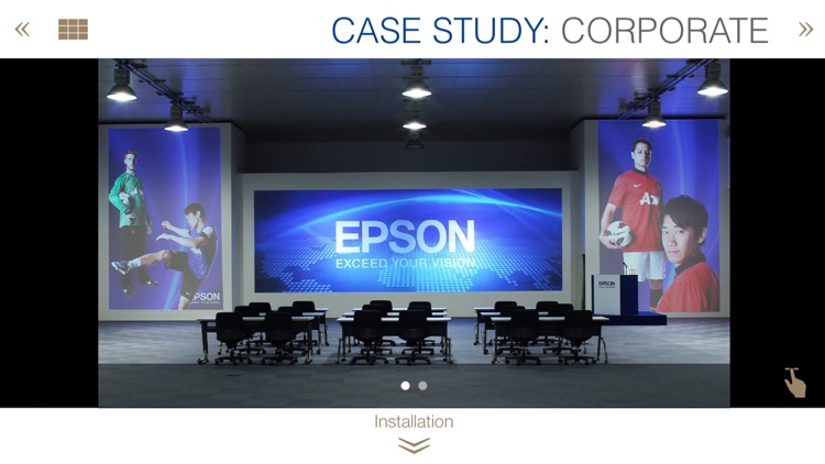 EPSON Projector User Case Study screenshot-3