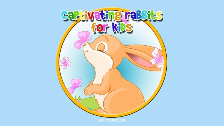 captivating rabbits for kids - free screenshot-0