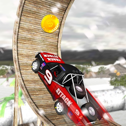 Winter 4x4 Offroad Truck Stunt Driving Racing Sim an Extreme Car Driver Game iOS App