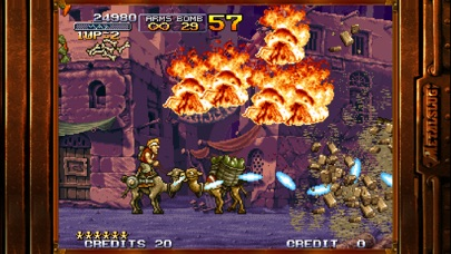 Screenshot for METAL SLUG X in Finland App Store