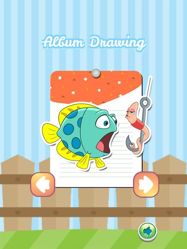 Libro Para Colorear Dibujo Océano Ideas Arte Linda