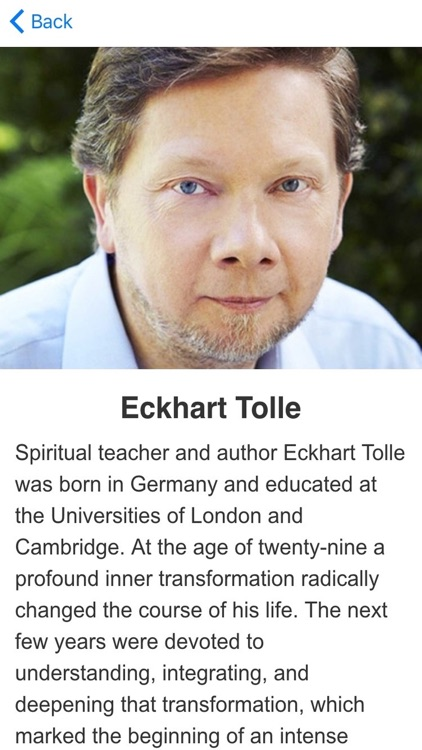 Power of Now Meditations based on Eckhart Tolle