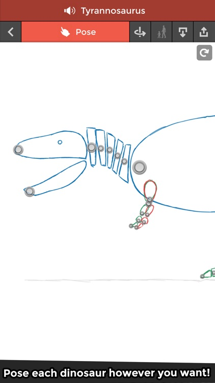 Pose & Draw Dinosaurs screenshot-0