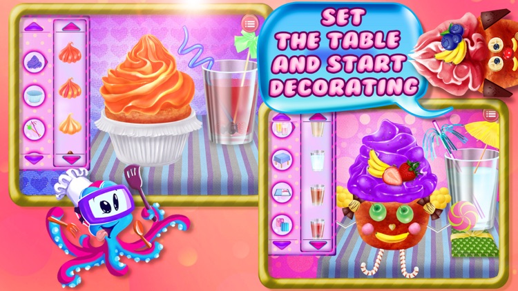Cupcake Crazy Chef - Make & Decorate Your Own Muffin Cake screenshot-3