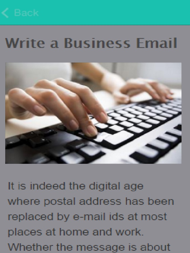How To Write A Formal Emails