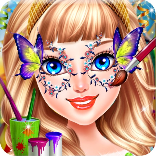 Face Painting Design Baby Girl Fashion Salon By Neamt Marius