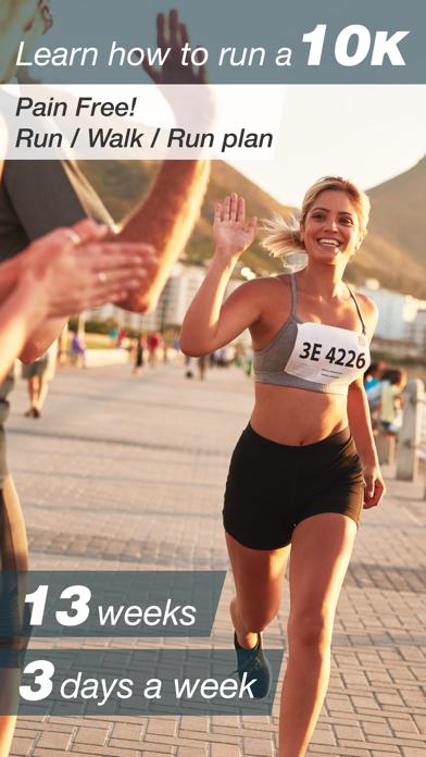 Easy 10K - Run/Walk/Run Beginner and Advanced Training Plans from 5K to 10K with Jeff Gallowayのおすすめ画像1