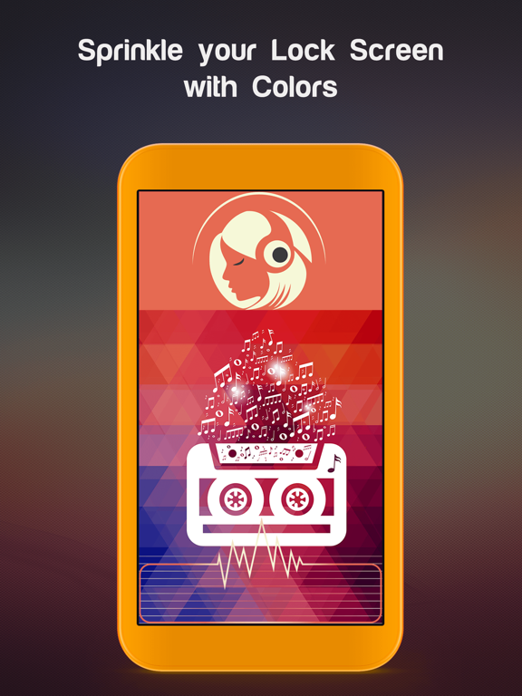 Lock Screen Maker - Customize your lockscreen with beautiful & colorful Themes by FexyLock screenshot