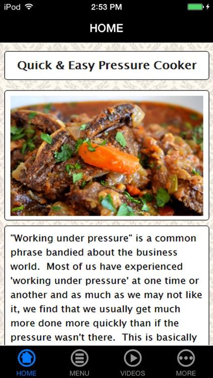 Quick & Easy Pressure Cooker Recipes