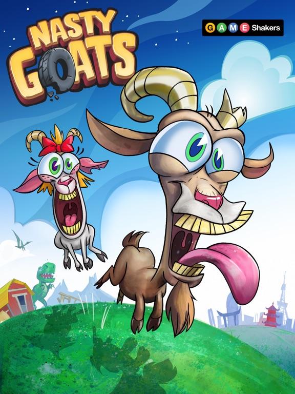 Nasty Goats – a Game Shakers Appのおすすめ画像1