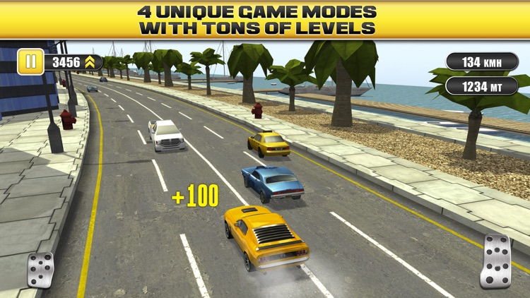 Traffic Racing a Real Endless Road Car Racer Hero screenshot-4