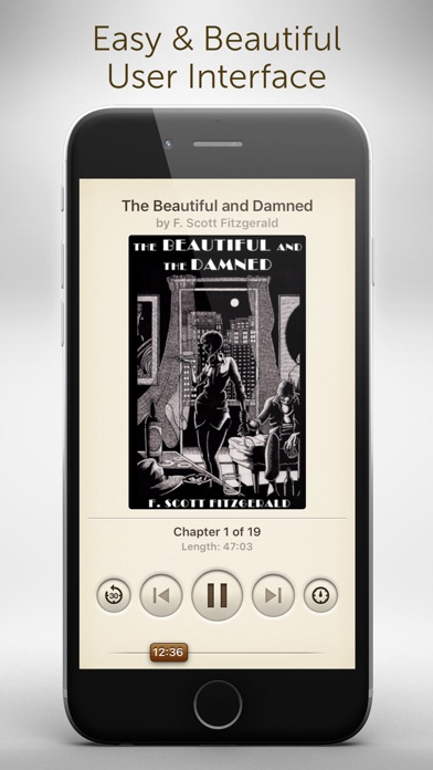 Audiobooks - 2,947 Classics For Free. The Ultimate Audiobook Library Скриншоты3