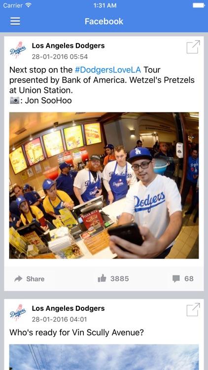 News Surge for Dodgers Baseball News Free Edition screenshot-3