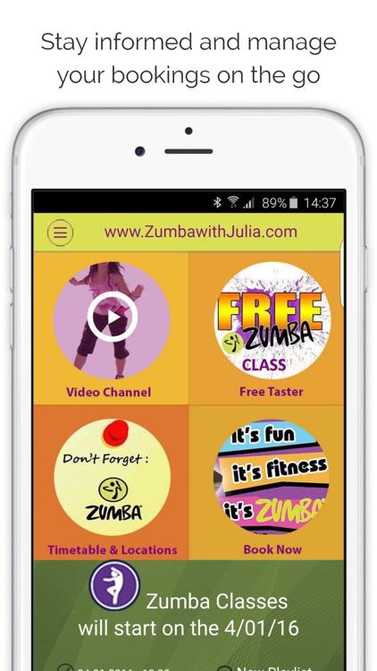 Zumba with Julia