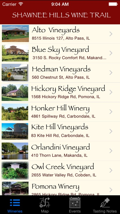 Shawnee Hills Wine Trail screenshot-3