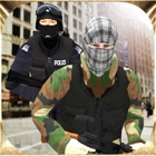 Las Vegas Police Officer Vs Bank Robbers 3D icon
