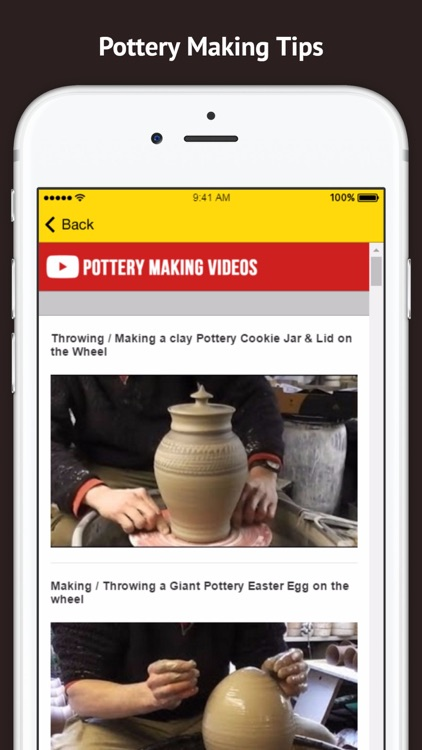 Pottery Making Tips and Methods screenshot-3