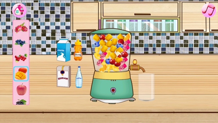 Cream Cake Maker:Cooking Games For Kids-Juice,Cookie,Pie,Cupcakes,Smoothie and Turkey & Candy Bakery Story! screenshot-3