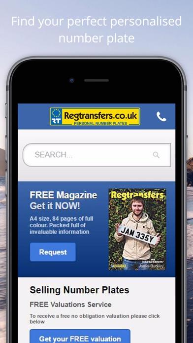 Regtransfers - Personal Number Plates screenshot two
