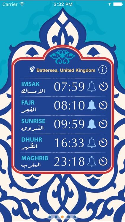 Qibla & Prayer Times