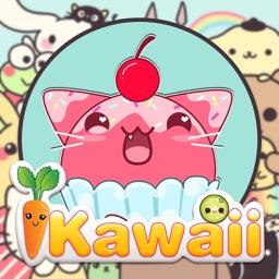 Kawaii Sticker Photo Editor Pro - Girls Selfie Camera with Cute Manga Stamp