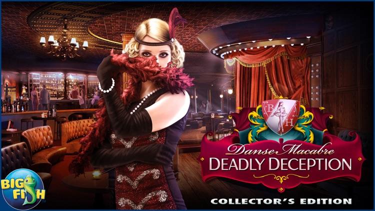 Danse Macabre: Deadly Deception - A Mystery Hidden Object Game screenshot-4