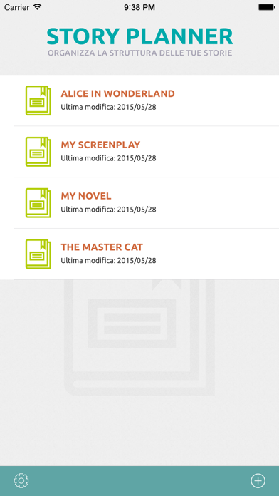Screenshot for Story Planner per Scrittori in Italy App Store