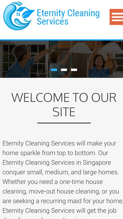 Eternity Cleaning Services