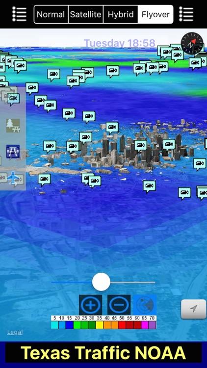 Texas NOAA Radar with Traffic Cameras 3D Pro screenshot-4