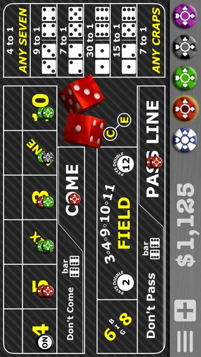 Casino Craps Pro 3D screenshot one