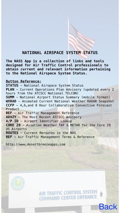 National Airspace System Status screenshot-4