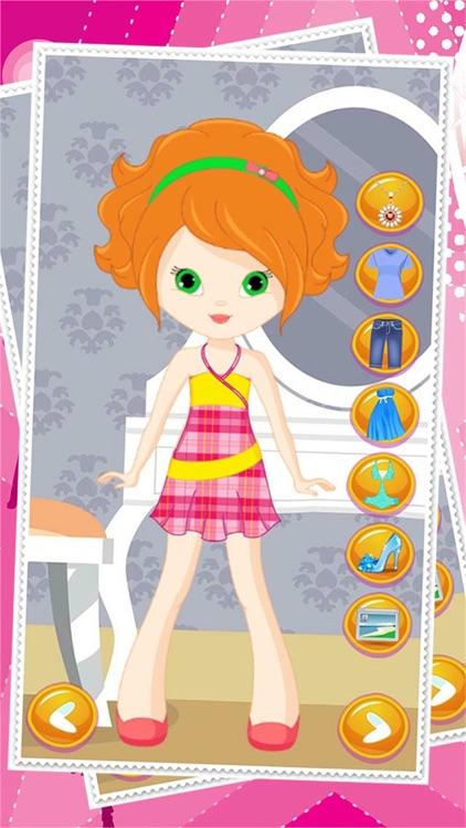 Little Girl Dress Up Dolls - Fashion Makeover Game For Girls