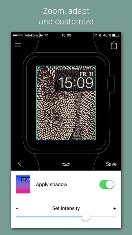 Faces - Custom backgrounds for the Apple Watch photo watch face screenshot-3
