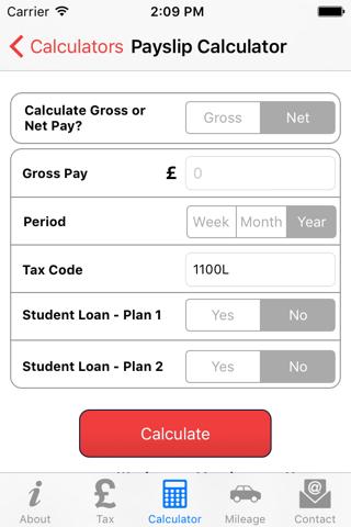 Screenshot of RS Partnership