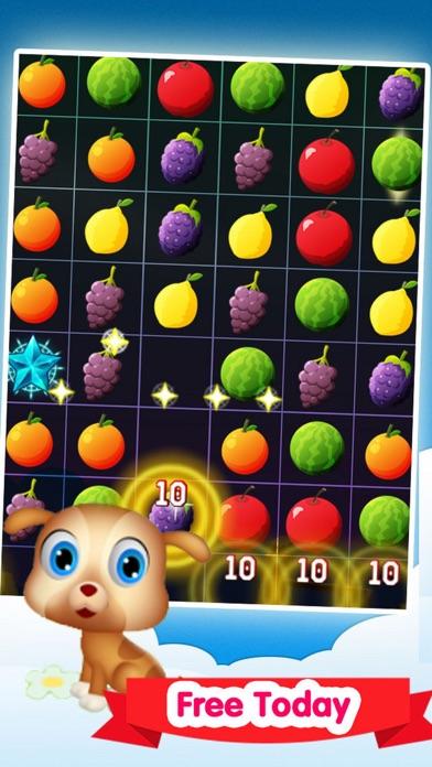 Happy Fruit Match-3 screenshot three