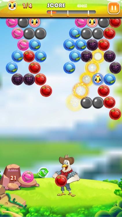 Bubble Shooter Farm Pop screenshot-3