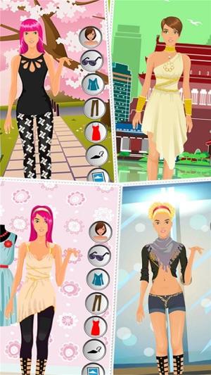 Celebridades Moda Partido Juego De Vestir Para Chicas