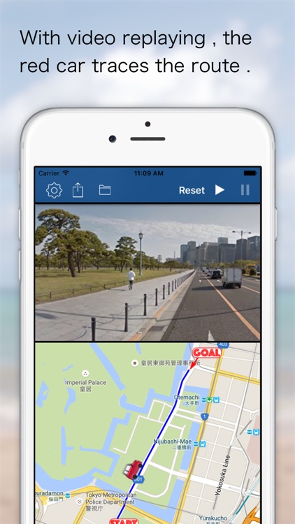 Route Video Player - Google Street View edition
