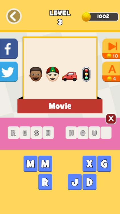 QuizPop Mania! Guess the Emoji Movies and TV Shows - a free word guessing quiz game screenshot-2