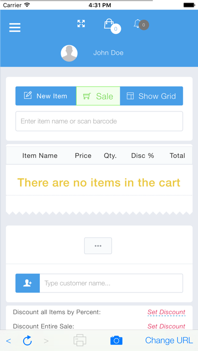 PHP Point Of Sale screenshot two